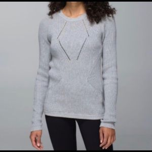 "Lululemon ""the sweater the better"" sweater"